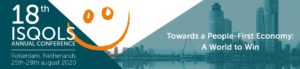 ISQOLS Conference @ Van der Goot building, Erasmus University | Rotterdam | Zuid-Holland | Nederland