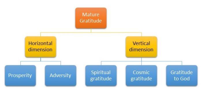 Volwassen dankbaarheid of dankbaarheid 2.0